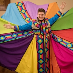 joseph in coat spread