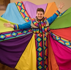 joseph in coat spread